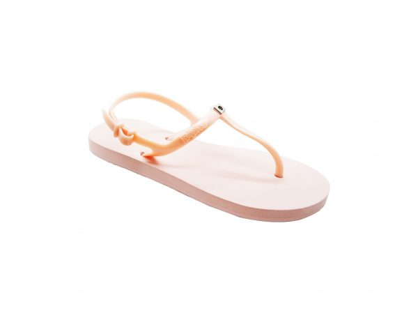Slingback Flat Rose Gold
