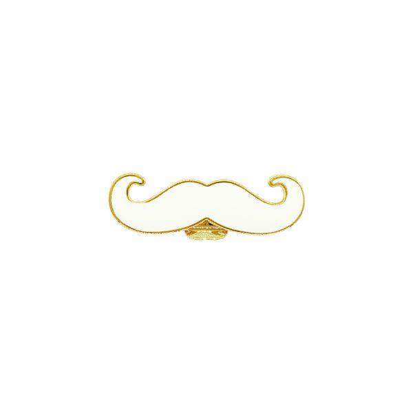 Moustache Gold White-02-01