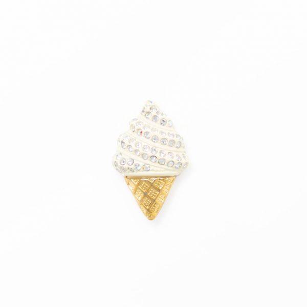 icecream vanilla gold