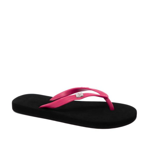two tone flats black fuchsia copy