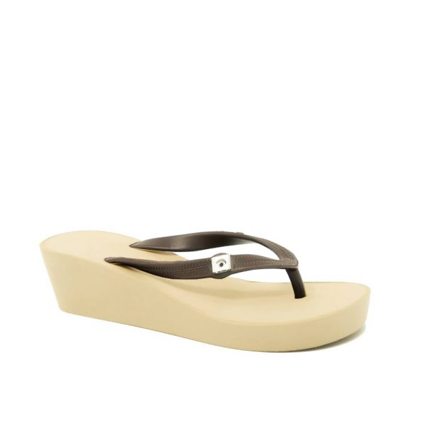 wedge twotone brown Sandgray