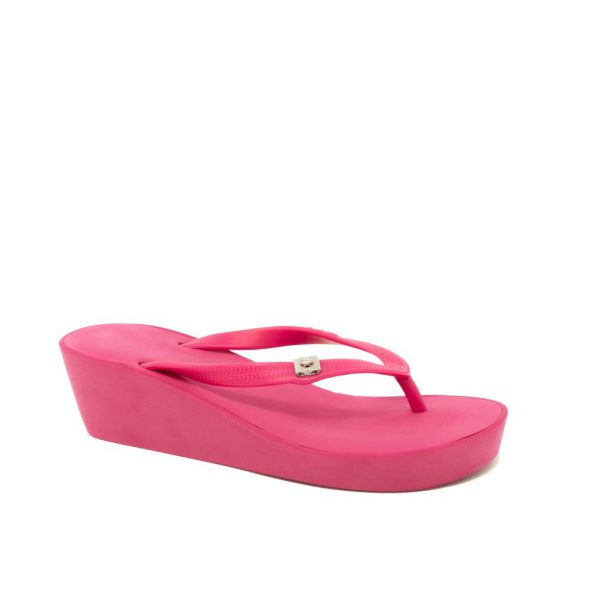 wedges fuchsia