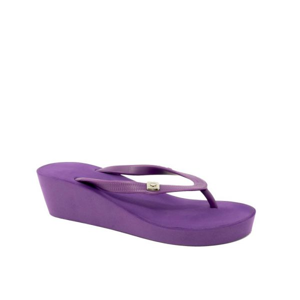 wedges purple
