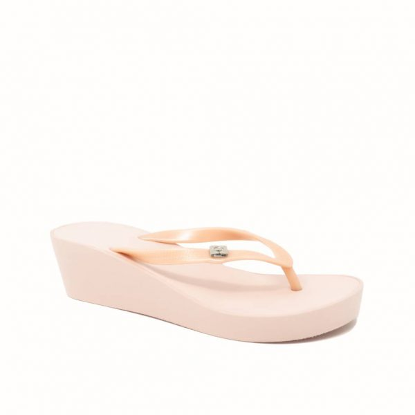 wedges rose gold